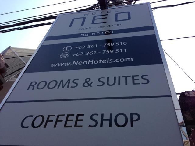★【バリ島ホテル】Neo Legianに泊まったのさ。