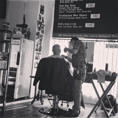 ★【The BARBER】突然バリで髪の毛が切りたくなった殿方へオススメしたい床屋な のさ。【バリ 床屋】