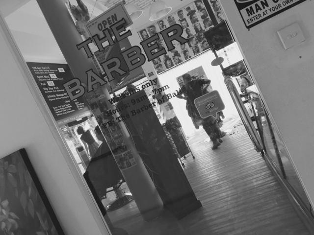 ★【THE BARBER BALI】新装開店ナシハビス!!!ざ・ばぁばぁぁに行ったのさ。【バリ 床屋】