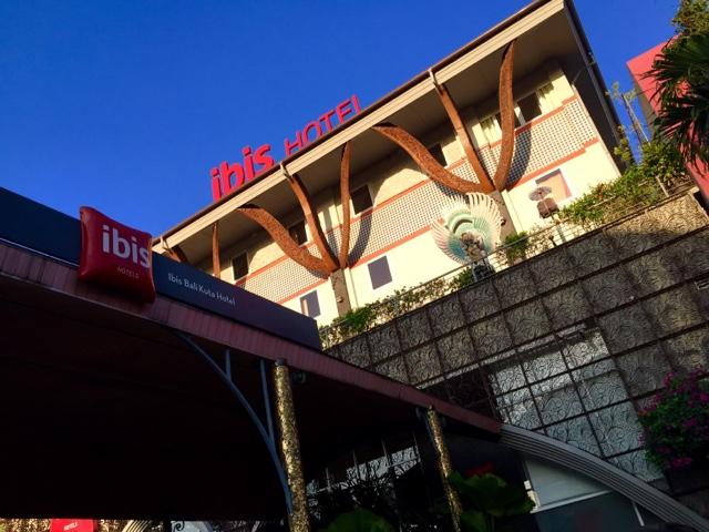 ★【バリ島 ホテル】最終日にどーしてもあそこに行きたくてここに泊まったのさ。【ibis BALI KUTA HOTEL】